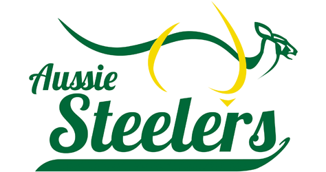 Australian Steelers Mens Fastpitch Team Logo