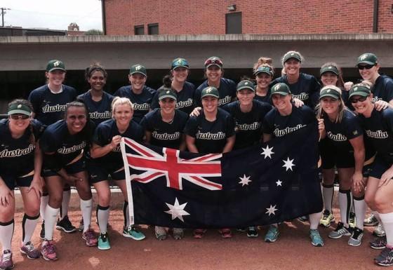 Australian Spirit Softball Team 2016