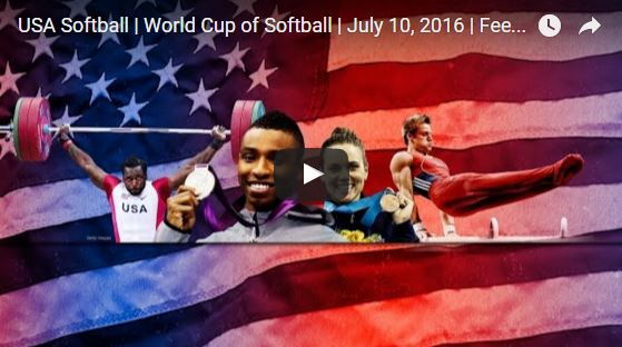 videofeed Softball World Cup 2016 Women